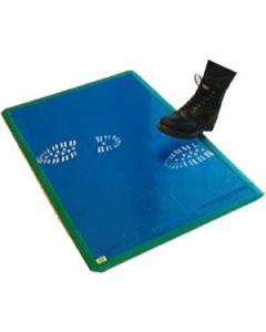 "Adhesive Mat Blue, 24"" x 36"", 30 layers per mat, 4 mats per case."