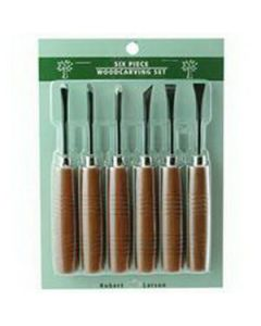 765-5000 6-Piece Woodcarving Tool Set