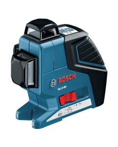 Bosch GLL 3-80 360 Degree Three Plane Leveling and Alignment Line Laser