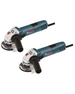 "Bosch GWS8-45-2P 4-1/2"" Small Angle Grinder, 2 Pack"