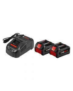 Bosch GXS18V-02N24 18V Core 18V Starter Kit with 2 Core 18V 6.3Ah Batteries