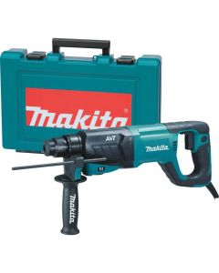 "Makita HR2641 1"" SDS‑Plus Bits AVT Rotary Hammer"