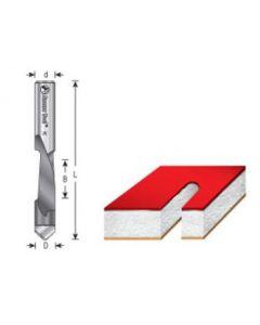 High Speed Steel Panel Pilot (HSS) Router Bit