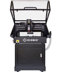 "ICONIC i2015XM 20"" x 15"" CNC Router Education Package with Safety Enclosure, Enclosed Stand, Dust Collection & Mobile Base"