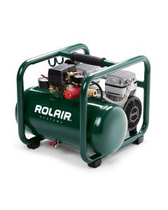 Rolair JC10PLUS 1 HP 2.5 Gallon Direct-Drive Electric Compressor, Oil-Less