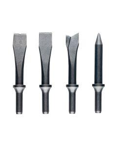 JET JSG-1304 Air Hammer Chisel Set, 4 Piece
