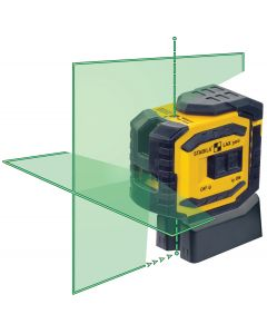 Stabila 03185 LAX300G Green Beam Cross Line and Plumb Laser Level