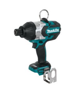 """Makita XWT09Z 18V LXT Lithium‑Ion Brushless Cordless High Torque 7/16"""" Hex Impact Wrench, Bare Tool"""