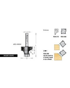 Corner Rounding with Ball Bearing Guide Router Bits