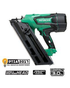 "Hitachi NR1890DR 3-1/2"" 18V Cordless Plastic Strip Framing Nailer"