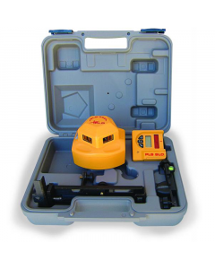 Pacific Laser Systems PLS 360 Red 360-Degree Self Leveling Laser Level System with Detector (PLS-60536)