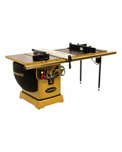 """Powermatic PM25150RK 2000B 230V 5HP Table Saw 50"""" Rip with Accu-Fence and Router Lift"""