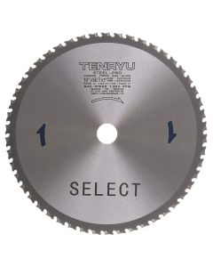 """Tenryu PRF-25550DS 10"""" Carbide Tipped Steel Pro Saw Blade"""