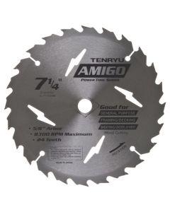"""Tenryu PT-18524AM 7-1/4"""" Power Tool Saw Blade"""