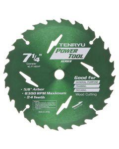 """Tenryu PT-18524-P 7-1/4"""" Power Tool Saw Blade"""
