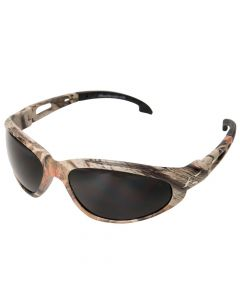 Edge SW116CF Eyewear Men's Dakura Camoflage Safety Sunglasses with Smoke Lens