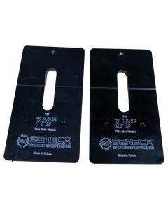 "Seneca Woodworking SWDP03 5/8"" and 7/8"" Domiplate for Festool Domino DF 500"