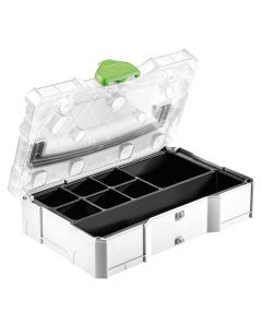 Festool SYS-MINI 1 TL TRA UNI Systainer with Transparent Cover