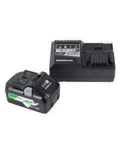 Metabo HPT UC18YSL3B1M MultiVolt 36V/18V Battery and Charger Starter Kit