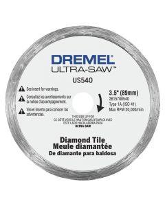 "Rotozip US540-01 Ultra-Saw 3-1/2"" Diamond Tile Cutting Wheel"