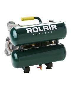 Rolair VT20ST 2 HP 4.2 Gallon Quiet Stack Tank Air Compressor