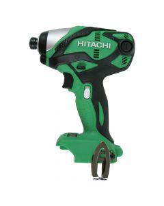 "Hitachi WH18DSDLP4 18-Volt Cordless Lithium-Ion 1/4"" Impact Driver, Bare Tool"