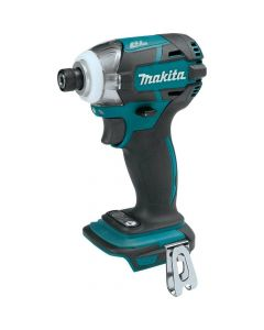 """Makita XDT09Z 18V LXT Lithium‑Ion Cordless Quick-Shift Mode 3-Speed 1/4"""" Impact Driver, Bare Tool"""