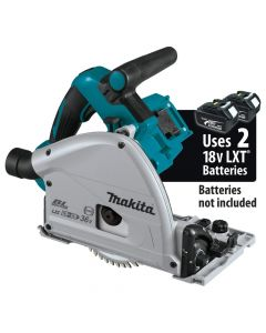 """Makita XPS02ZU 18V X2 LXT (36V) Brushless Cordless 6-1/2"""" Plunge Circular Saw with AWS, Bare Tool"""