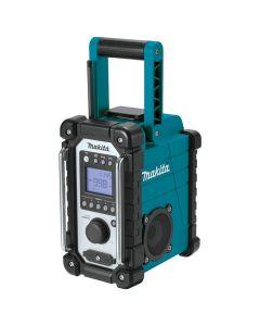 Makita XRM05 18V LXT Lithium‑Ion Cordless Job Site Radio, Bare Tool