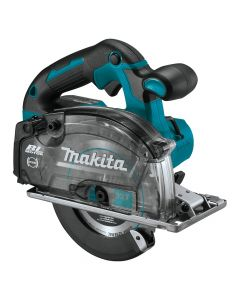 "Makita XSC04Z 18V LXT Lithium-Ion Brushless Cordless 5-7/8"" Metal Cutting Saw with Electric Brake and Chip Collector, Bare Tool"