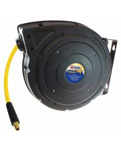 Coilhose Pneumatics YBREEL60504Y 50' Yellow Belly Hybrid PVC Air Hose Reel