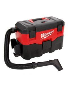 Milwaukee 0880-20 18V Cordless 2 Gallon Wet/Dry Vacuum, Bare Tool
