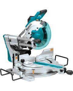 "Makita LS1019L 10"" Dual‑Bevel Sliding Compound Miter Saw with Laser"