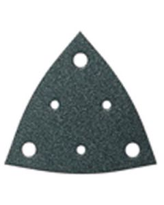 Fein 63717110015 Triangular H&L Abrasive Sheets with Dust Holes 80 Grit, 50/Pack