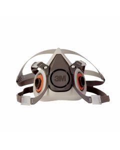 3M 6300 Half Mask Respirator Large 13537