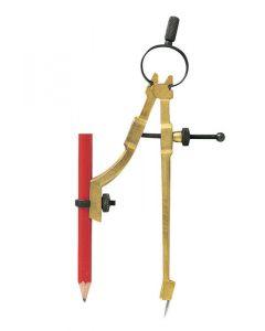 """General Tools 1542745 9"""" 842 Pencil Compass/Scriber"""