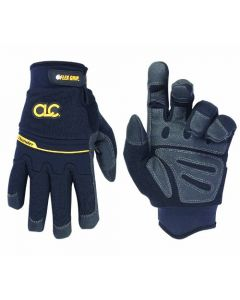 CLC Thunder 173XL Winter Gloves, X-Large, Synthetic Leather/Lycra/Neoprene, Black
