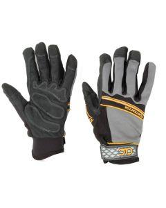 CLC Buster™ 175L Demolition Gloves, Large, Polyester, Black