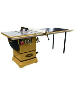 """Powermatic 1791001K PM1000 Table Saw, 1-3/4 HP 1PH 115V, with 52"""" Accu-Fence System"""