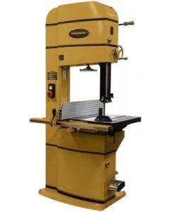 Powermatic 1791257B Band Saw, 18 x 20 inch Cutting, 2300/4400 SCFM Blade