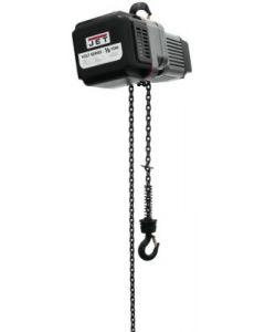 JET 185020 VOLT 1/2T Hoist 1PH/3PH 230V 20' Lift