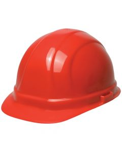 ERB Omega II Red Hardhat, 6PT Ratchet
