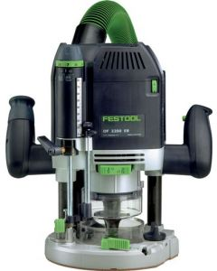 "Festool 574689 OF2200 EB 1/2"" Variable Speed Plunge Router with Imperial Scale"