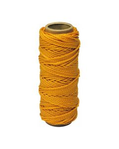 Irwin 2034404 500' Strait-Line Braided Twine, #18, 500 ft, Nylon, Orange