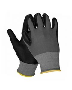 ERB Safety Theta Gloves 21225 Nitrile Foam Dipped Safety Gloves, XL