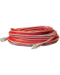02589-USA1 Contractor Grade Extension Cord, 12/3 AWG, Lighted End