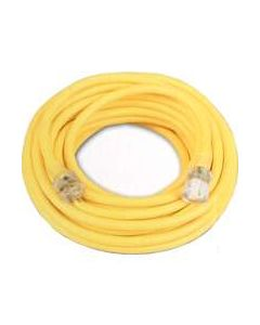 Pro-Power 12/3 25' 12-Gauge Contractor Extension Cord w/Lighted End
