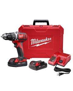 Milwaukee M18 2606-22CT M18 Compact Cordless Drill/Driver Kit