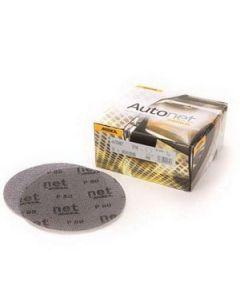 """6"""" 150-Grit Autonet H&L (Grip) Mesh Abrasive Discs, 50/Box"""