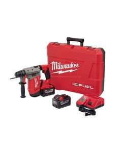 "Milwaukee 2715-22HD M18 FUEL 1-1/8"" SDS-PLUS Cordless Rotary Hammer Kit, with 9.0Ah Batteries"